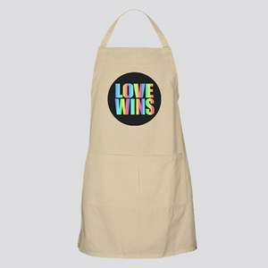 Love Wins Rainbow Apron
