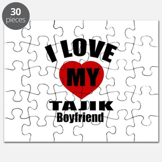 I Love My Tajikistan Boyfriend Puzzle