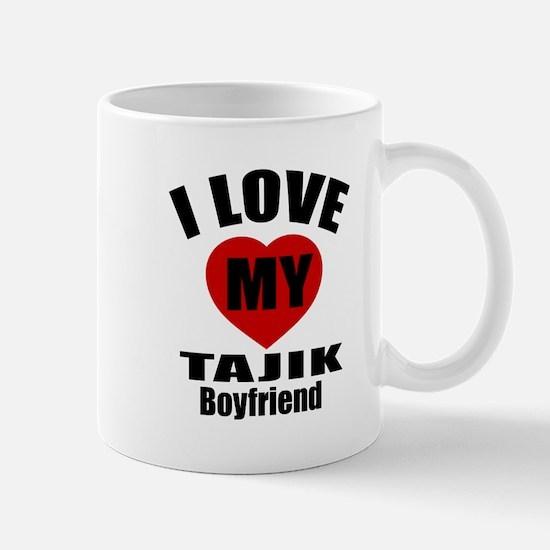 I Love My Tajikistan Boyfriend Mug