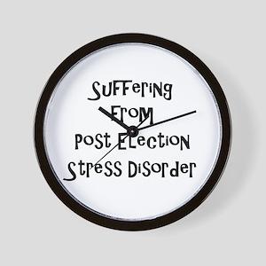 Post Election Stress Disorder Wall Clock