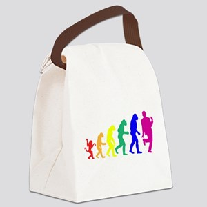 Gay Evolution Canvas Lunch Bag