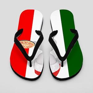 italian christmas Flip Flops