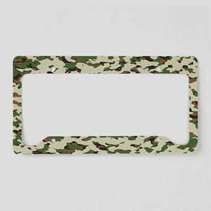 Camouflage: Arid Desert I License Plate Holder