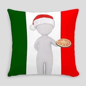italian christmas Everyday Pillow