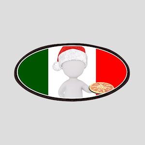 italian christmas Patch
