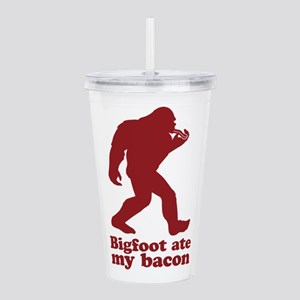 Bigfoot (Sasquatch) at Acrylic Double-wall Tumbler
