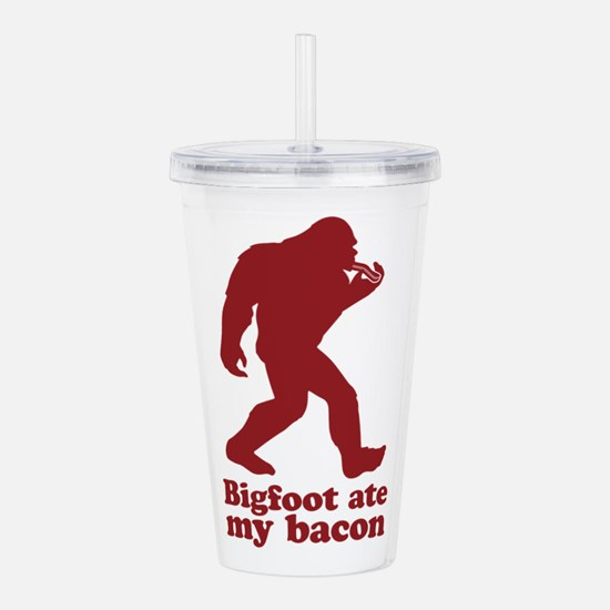 Bigfoot (Sasquatch) at Acrylic Double-wall Tumbler