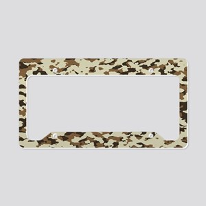 Camouflage: Arid Desert III License Plate Holder