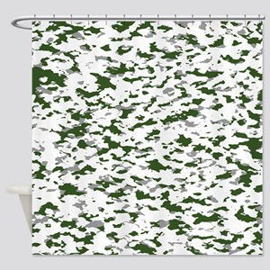 Camouflage: Alpine I Shower Curtain