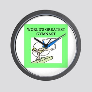 gymnist gifts t-shirts Wall Clock
