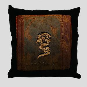 Awesome dragon Throw Pillow