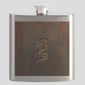 Awesome dragon Flask