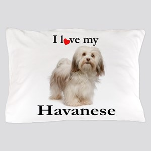 Love My Havanese Pillow Case