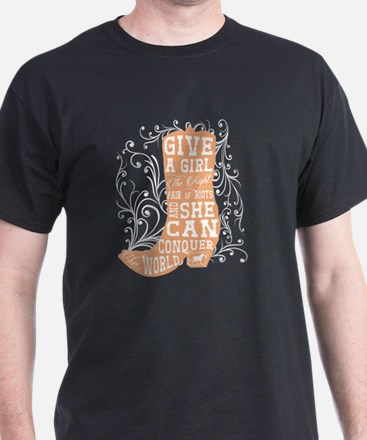 Cute Cowgirl boots T-Shirt