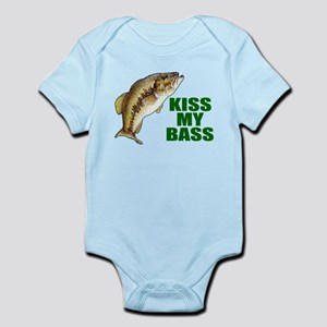 Kiss My Bass Infant Bodysuit