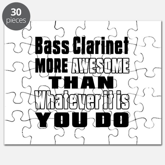 Bass Clarinet More Awesome Puzzle