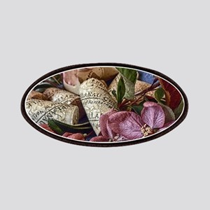 Apple blossom and wine corks Patch