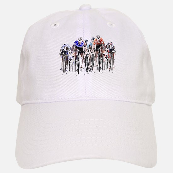 Cyclists Baseball Baseball Cap