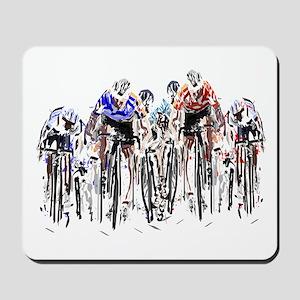 Cyclists Mousepad