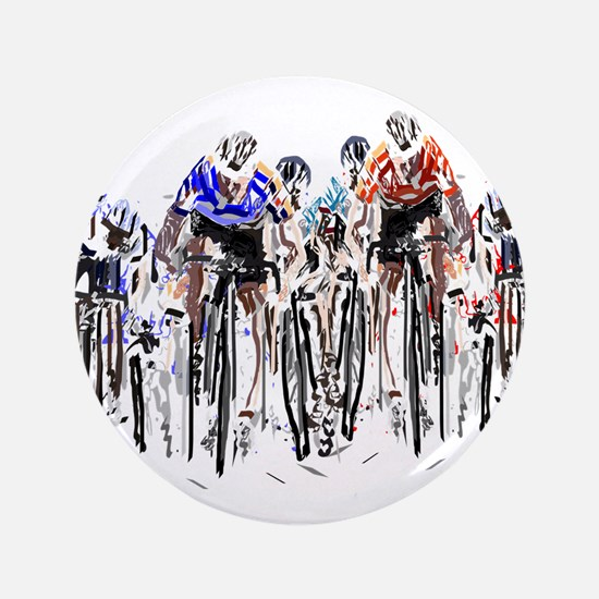 "Cyclists 3.5"" Button (100 pack)"