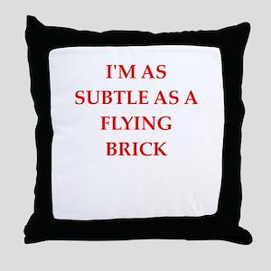 subtle Throw Pillow