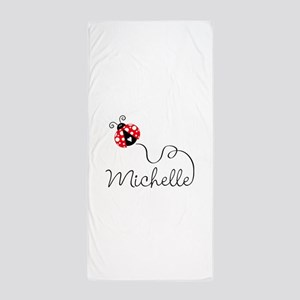 Ladybug Michelle Beach Towel