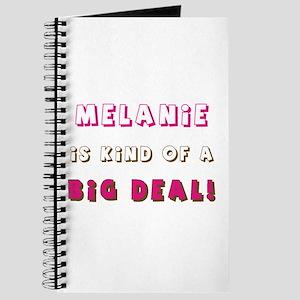 Melanie Is Kind of a Big Deal Journal