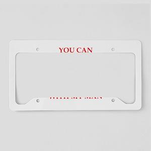 cheat License Plate Holder