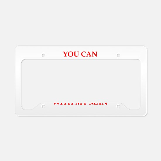 cheat License Plate Holder
