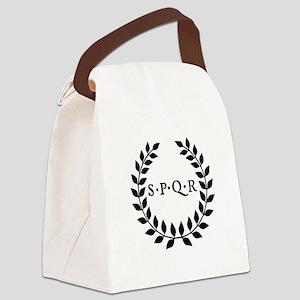 Spqr Canvas Lunch Bag