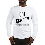 Got Guitar (blk) Long Sleeve T-Shirt