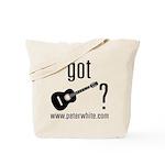 Got Guitar (blk) Tote Bag