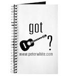 Got Guitar (blk) Journal