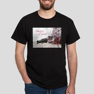 Cat Under Christmas Tree T-Shirt