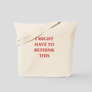 rethink Tote Bag