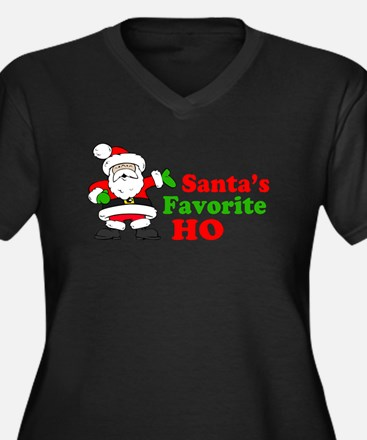 Santa's Favorite Ho Plus Size T-Shirt