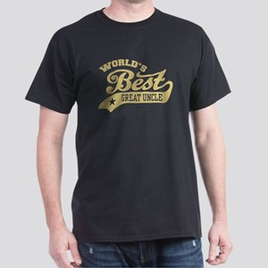 World's Best Great Uncle Dark T-Shirt