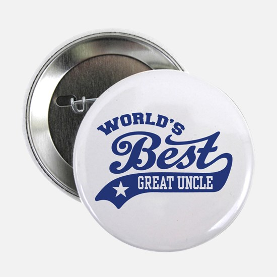 """World's Best Great Uncle 2.25"""" Button"""
