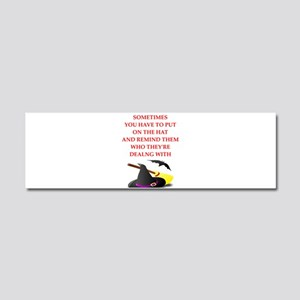 witch Car Magnet 10 x 3