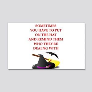 witch Wall Decal