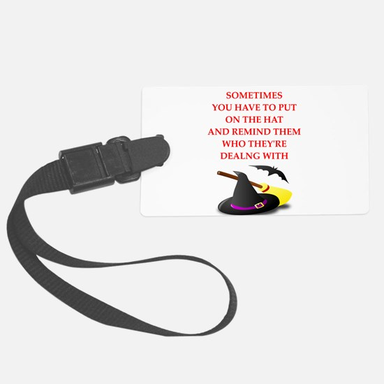 witch Luggage Tag