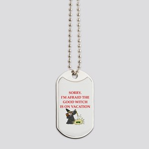 wicked witch Dog Tags