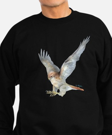 Cute Red tailed hawk pictures Sweatshirt (dark)