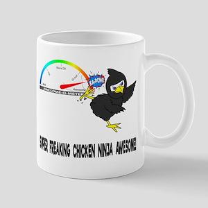 Chicken Ninja Awesome Mugs