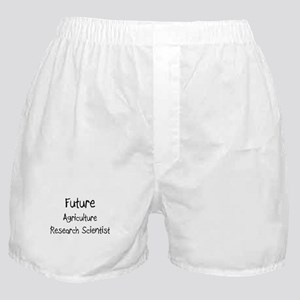 Future Agriculture Research Scientist Boxer Shorts