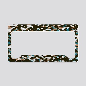 Camouflage: Arctic Tundra I License Plate Holder
