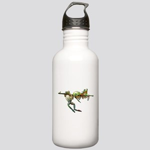 Hang in There Froggies Stainless Water Bottle 1.0L