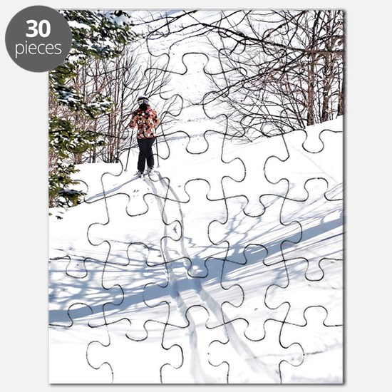 Funny Skiing Puzzle