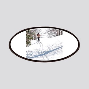Lone Cross Country Skier Patch