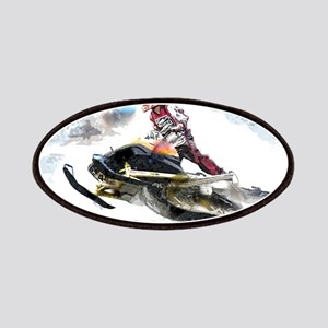 Snowmobile Competition Patch
